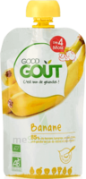 Good Goût Alimentation Infantile Banane Gourde/120g à QUINCAMPOIX