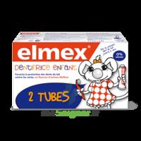 ELMEX DUO DENTIFRICE ENFANT, tube 50 ml x 2 à QUINCAMPOIX