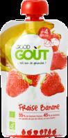 Good Goût Alimentation Infantile Fraise Banane Gourde/120g
