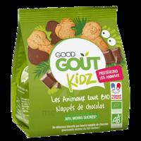 Good Goût Biscuit animaux nappé chocolat B/120g à QUINCAMPOIX