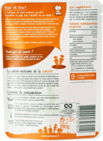 Good Goût Alimentation infantile carottes poulet Sachet/190g
