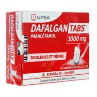 DAFALGANTABS 1 g Cpr pell Plq/8 à QUINCAMPOIX