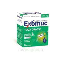 EXOMUC 200 mg, granulés pour usage oral en sachet 15 Sachets/2g à QUINCAMPOIX