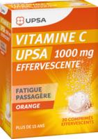 Vitamine C Upsa Effervescente 1000 Mg, Comprimé Effervescent à QUINCAMPOIX