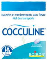 Boiron Cocculine Comprimés orodispersibles B/40 à QUINCAMPOIX